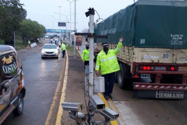 Realizan más controles sobre el transporte público y el de carga