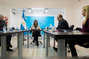 Frederic encabezó una reunión extraordinaria del Consejo de Seguridad Interior