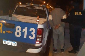 Un hombre alcoholizado fue detenido por ahorcar a su pareja