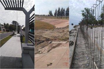Santa Elena: avanzan con diferentes frentes de obras