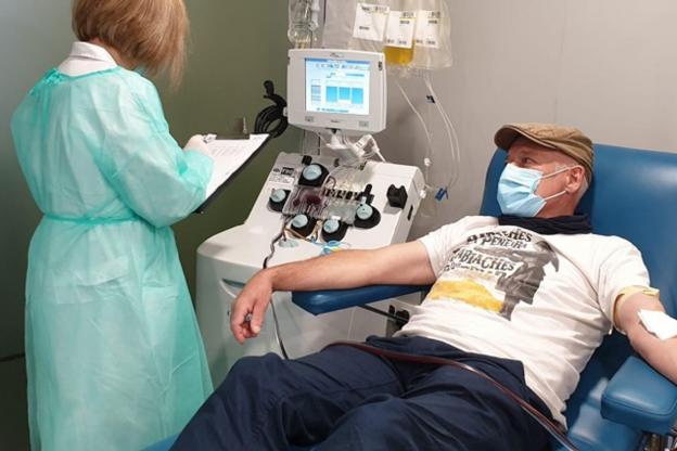 Comenzó a regir la ley de donación de plasma