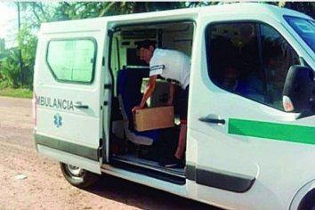 Santiago del estero detuvieron una ambulancia cargada con fernet y gaseosas