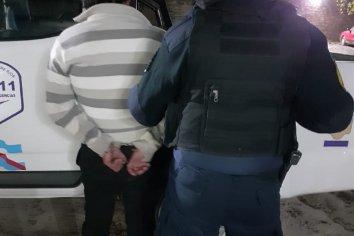 Un hombre fue detenido por amenazar a su pareja con una cuchilla