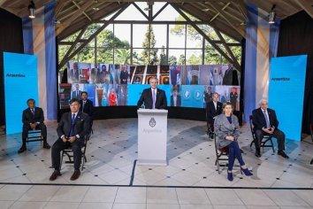 """Alberto Fernández llamó a construir la """"Argentina del mañana dejando atrás el odio y las divisiones"""""""