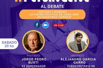 """Jorge Busti dialogara con la juventad peronista sobre """"ARTÍGAS Y RAMIREZ, LA VISIÓN POLÍTICA DE CADA UNO EN NUESTRAS TIERRAS"""""""
