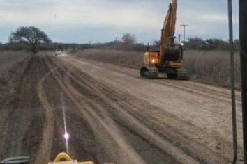Se avanza en la reconstrucción de la Ruta 33 entre Paraná y Nogoyá