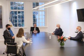 El Presidente recibió a directivos del laboratorio AstraZeneca que desarrolla una avanzada vacuna junto a la Universidad de Oxford