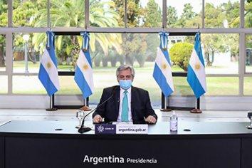 Alberto Fernández confirmó la continuidad del IFE y el ATP