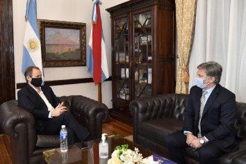 El presidente del IAPSER y el gobernador Bordet planificaron nuevos proyectos