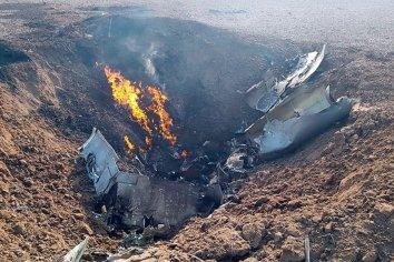 Murió piloto paranaense al estrellarse un avión de la Fuerza Aérea