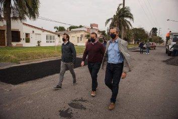 La Municipalidad trabaja en la recomposición de la trama vial
