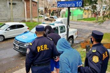 La policía logró recuperar los elementos robados en el Club Atlético Paraná