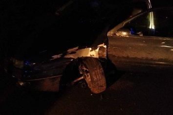 Dos automoviles chocaron en zona del Parque Nuevo