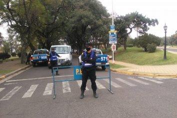 Por los operativos, se redujo la circulación de vehículos en parques