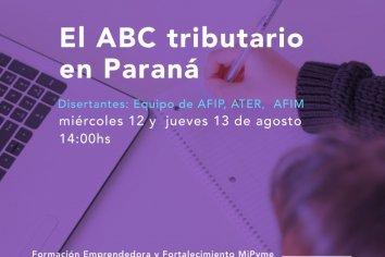 Capacitarán sobre el ABC Tributario de Paraná