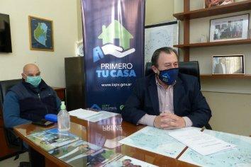 Gestionan la ejecución de viviendas sociales para el departamento Tala