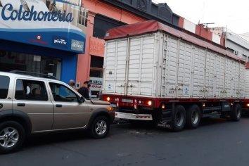 Choque en el centro paranaense, uno de los conductores no tenía carnet