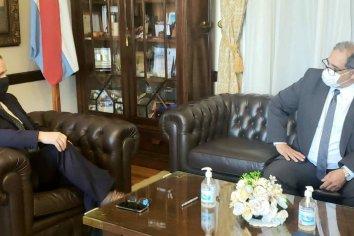 El presidente del STJ se reunió con el gobernador de la provincia