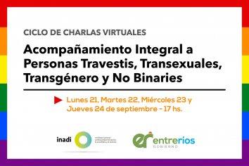 Capacitarán a agentes del Estado provincial en acompañamiento integral a personas trans y no binaries