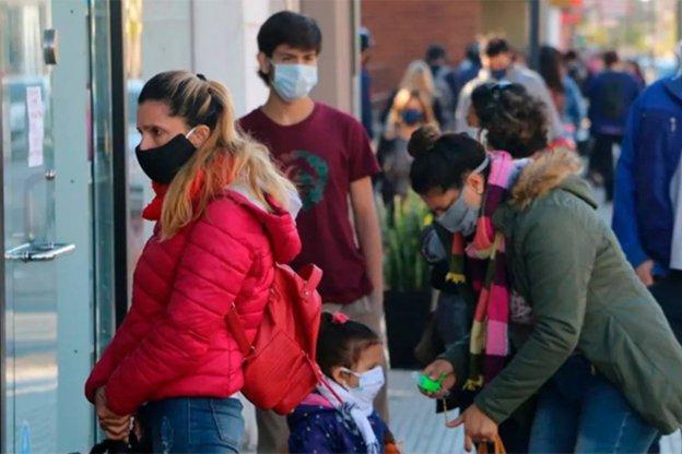 Informaron 1.733 contagios en el país y 88 muertes en las últimas 24 horas