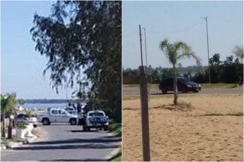 Operativo en el Thompson: Detuvieron un auto
