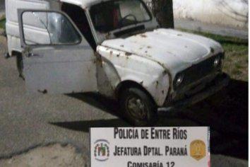 Hallaron un auto que habían sustraído de un domicilio
