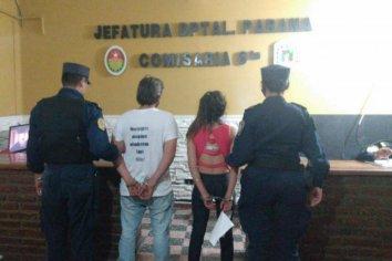 Una joven y un hombre fueron aprehendidos por resistencia a la autoridad