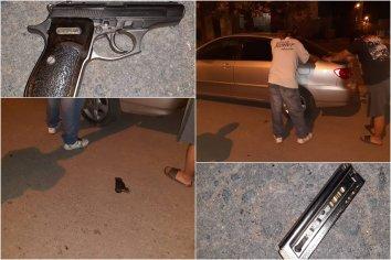 Secuestraron un arma, un auto y detuvieron a cuatro personas