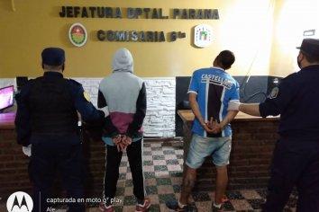 Dos jovenes aprehendidos por herir y amenazar a otros