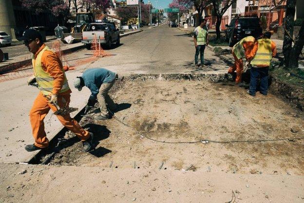 Brindaron detalles de la etapa actual en la recuperación de Avenida Ramírez