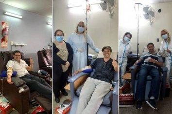 Se han realizado 60 extracciones de plasma en el Hospital San Martín