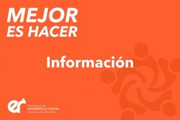 Desarrollo Social extendió hasta el 5 de octubre la entrega de proyectos de Mejor es Hacer