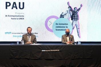 Bahl participó del lanzamiento de un importante programa de orientación universitaria