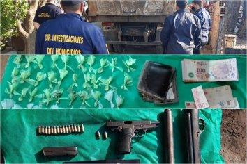 Hallaron droga, dinero y armas en un camión municipal
