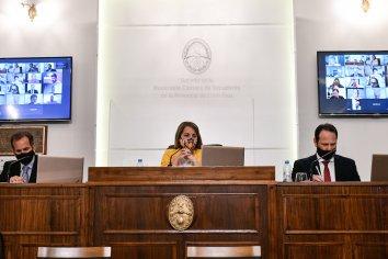 Dieron ingreso a la designación del presidente y vicepresidenta del Copnaf