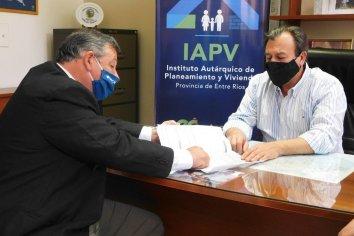 Con recursos provinciales reanudarán la construcción de viviendas en El Pingo