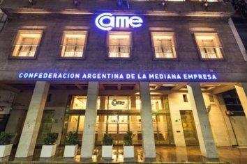 """CAME propuso una serie de medidas """"para acelerar reactivación económica"""""""