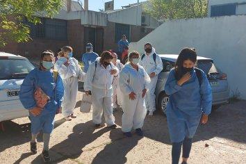 Agentes sanitarios visitaron 1.094 domicilios en diferentes barrios de Paraná