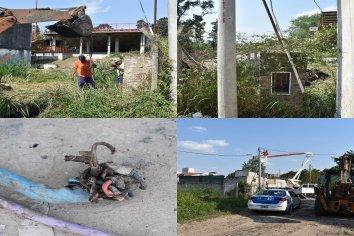 Detectan conexión ilegal que dejaba sin energía eléctrica a gran parte del Parque Gazzano