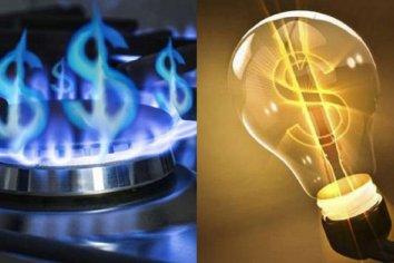 Los incremento de gas y electricidad promediaría 25%