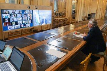 Alberto Fernández participó de la celebración virtual por los 90 años de Estela de Carlotto