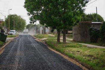 Mejoras en calles de la Vecinal 6 de Febrero