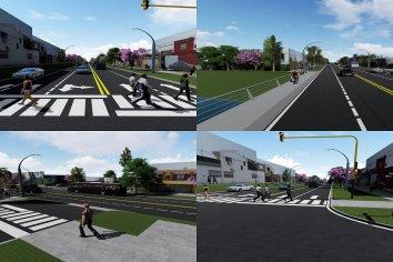 Un proyecto de gran trascendencia para la avenida Rondeau