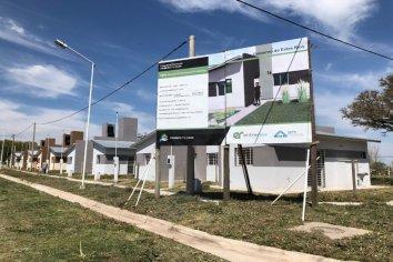 Con recursos provinciales se construyen viviendas en otras cinco localidades entrerrianas