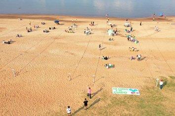 Instalarán círculos de distanciamiento en las playas del departamento Uruguay
