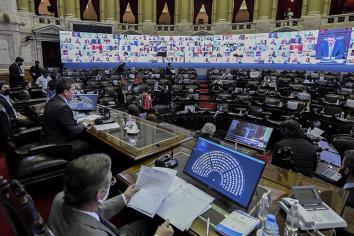 Diputados sesiona para tratar la reforma del impuesto a las Ganancias