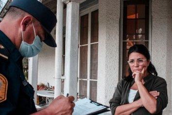 Dolores Etchevehere fue detenida por resistir el desalojo del campo