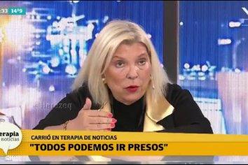 """""""Mauricio Macri tiene que decidir si quiere una justicia independiente o si quiere ir preso"""" manifestó Carrió"""