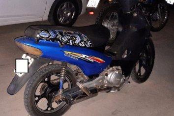 En un operativo secuestraron una moto adulterada