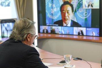 Fernández firmó un Memorando en Entendimiento con la FAO